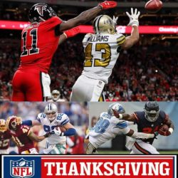 falcons vs saints thanksgiving nfl